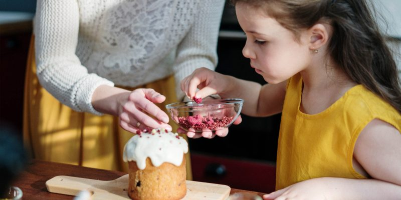 women-baking-to-each-other